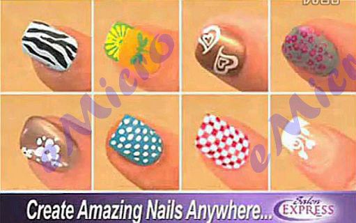 Salon Express Nail Art Stamping Kit Diy Like A Pro Buy Nail Diy