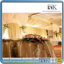 RK Wedding drapery,home drapery fabric for events with high quality