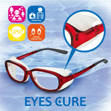 Safe and Functionable global trading co ltd EYES CURE with eye protection