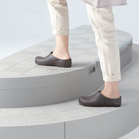 Resin low flex outdoor stairs with storage possessing excellent weather resistance