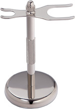 Discount Price For New Original Escali Deluxe Chrome Razor and Brush Stand