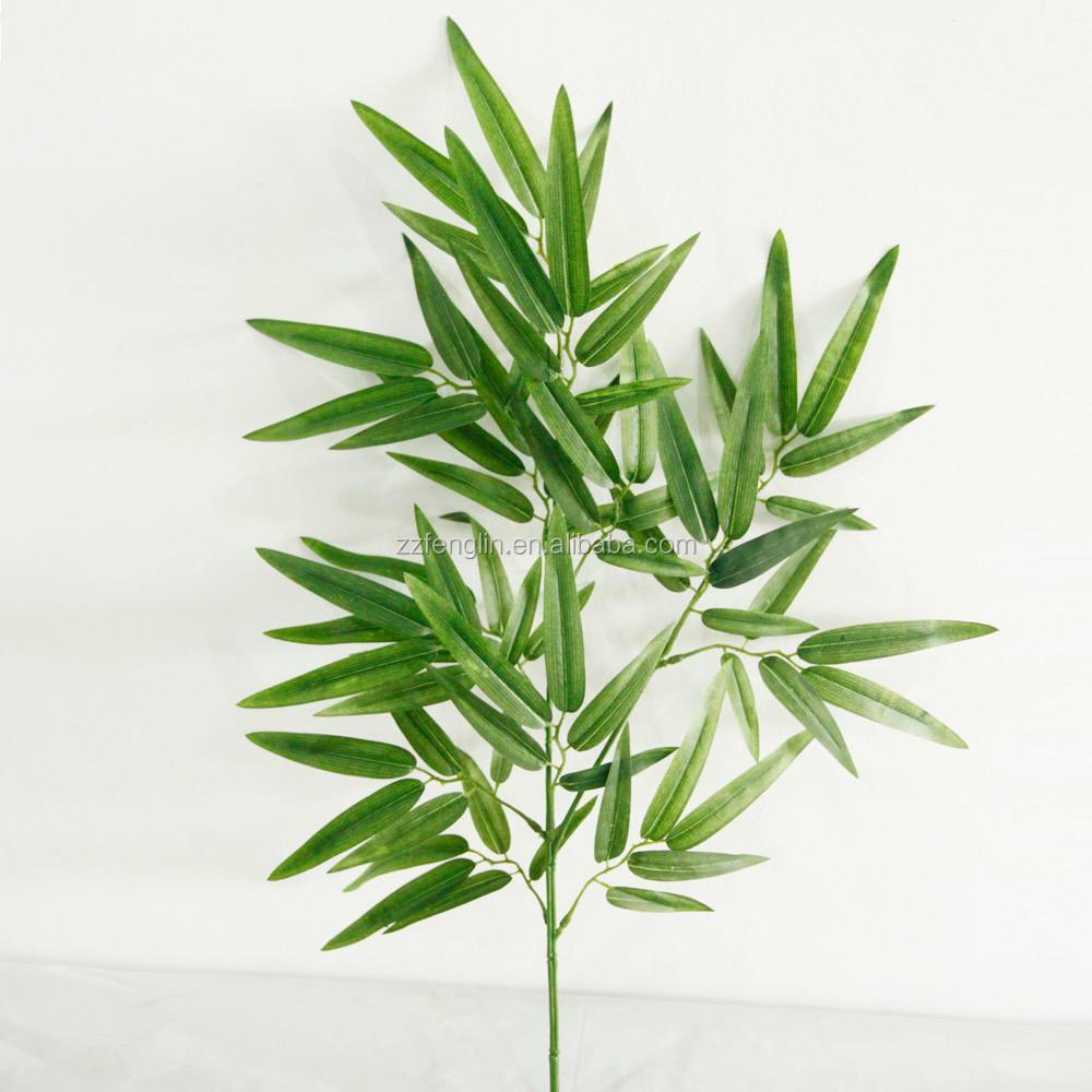 Pas cher faux feuilles en gros feuilles artificielles pour for Faux bambou pas cher