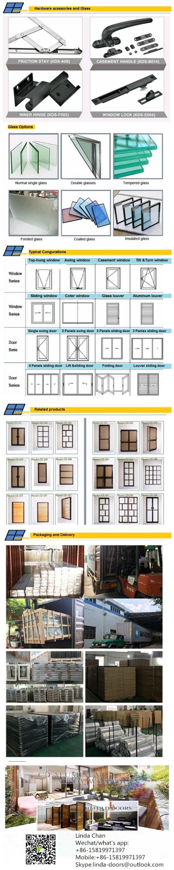 2016 nieuwe model getralied glas ontwerp beveiliging deuren ...