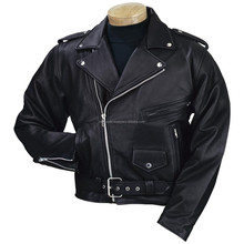 Leather Motorbike jacket. Motorcycle jacket. Leather apparel. Cow hide leather jacket/2015
