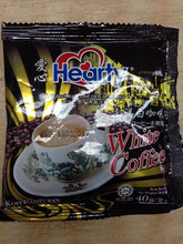 3-in-1 Instant White Coffee Hearty Brand
