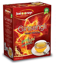 Filtering Gihseng Mixed Herbal Tea Bags