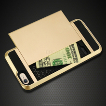 """New stylish case for iphone 6 4.7"""" back cover case VERUS Card Slider Card Storage armor case for iphone 6 plus 5,5''"""