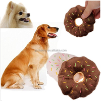 Cotton Wool Pet Toys Can Sound Donuts Puppy Or Kitten Chewing Playmate Supplies Dog Circle Type Products