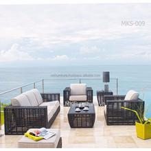 UV P.E Rattan - Poly Rattan Outdoor Furniture (1.2mm aluminum frame, waterproof cushion)