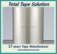 Transparent rubber adhesive tape (PET film) for peeling a surface protection film & PVC liner