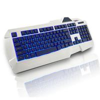 USB Wired LED Backlit Illuminated Gaming Game Keyboard for PC Laptop #68516