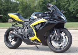 2012 Suzuki GSX-R750 motorcycle