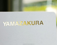 Original customize design possible foil printing business cards