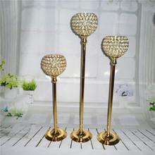 Gold Centerpieces/crystalwedding/decoration/candleholders