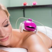 WheeMe The Back Massager Relaxation Robot mini massage - Pink - (Robot, Gadget)