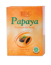 BDL Papaya Transparent Soap