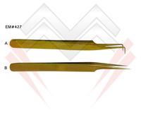 Eyelash Tweezers in NEW Exciting Gold Colors, Beautiful Bright Color Coated Eyelash Extension Tweezers MARIG