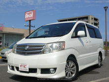 Good looking used japan vans toyota alphard 2003 used car at reasonable prices