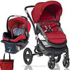 Buy 2 get 1 free New Britax - Affinity Travel System with Bag - Red Black
