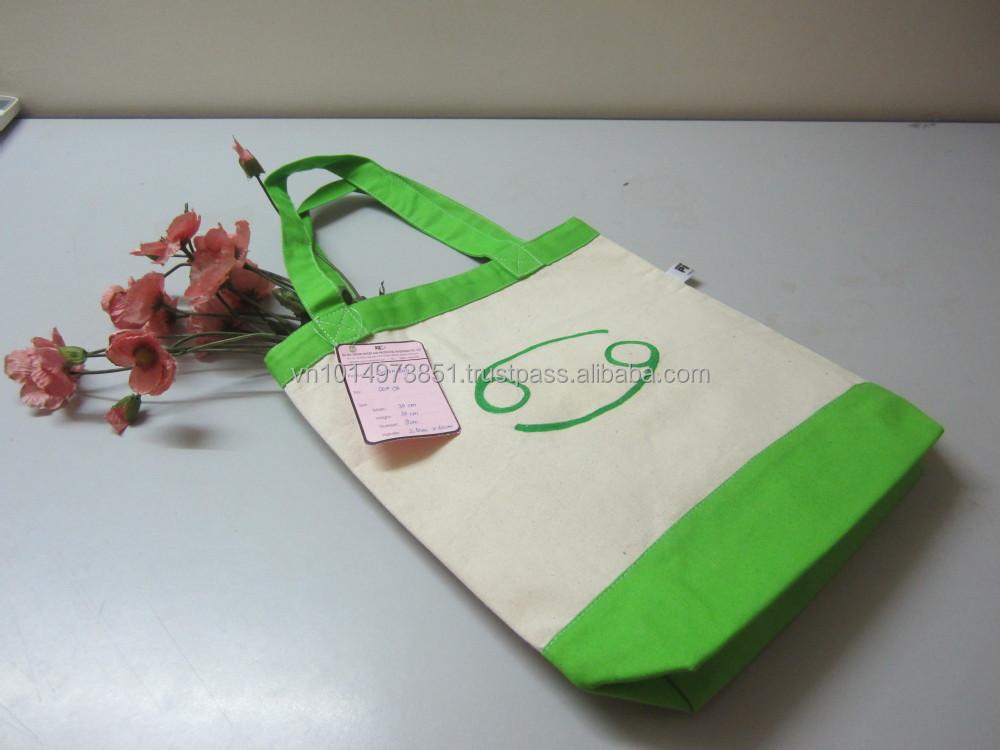 Wholesale Organic Shopping Bag  Cotton Handbag 004CB 5.JPG