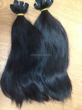 Human Virgin Hair Extension shine natural hair no chemical remy hair