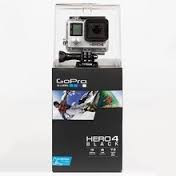 Best Go Pro Hero 4 Black Edition Action Sports + Water Sports Bundle, with 32GB SD Memory Card, Camera Tether, Floaty Bobber,