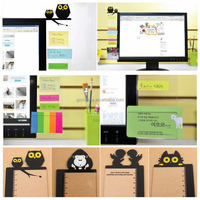 Modern Design Best Promotion Computer Monitor Screen Transparent Board Sticky Notes Card Photo Holder Suitable For Office Home