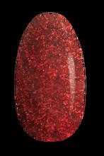 UV gel nail polish 3in1 Liquid Glitter Fire Red