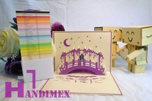 New Love pop up card - New Products with 3 layers NLV014- Special design