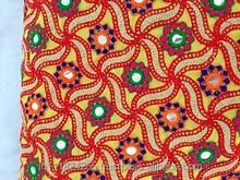 mirror kutch gujrati work fabrics