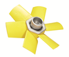 Fixed pitch airfoil profile axial flow fans for radiators and engine coolers, diameter up to 900mm