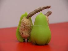 Handmade Soap - Natural Spa Fruit and Luffa Soap.Rose apple Flavor (100 Grams)