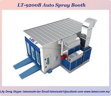 LT-9200B Europe Type Car Spray Booth with Turbo Fan