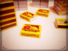 40 fill Wooden Safety Matches with 10 x 10 x 10 Matchbox packing