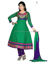 Plain Cotton Salwar Kameez