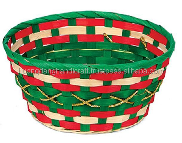 Basket Weaving Materials Canada : Weaving bamboo material and storage baskets type easter