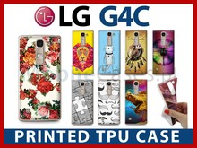 Printed TPU case for LG G4c - high quality print, flexible mobile phone case