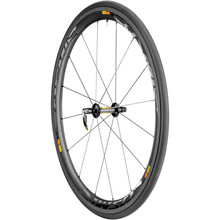 Discounted + Free Shipping Mavic Cosmic Carbone 40 Carbon Road Wheelset - Tubular Black, Campy11