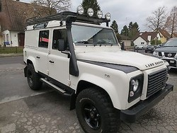 Used Land Rover Defender 110 Station Wagon - Left Hand Drive - Stock no: 12376