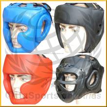 Wholesale kick boxing head guard,high quality dipped foam head guard