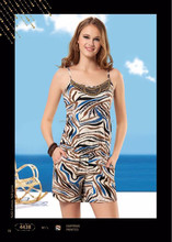 2015 new design pajamas adult fashion pajamas for summer/winter
