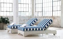 Synthetic Rattan Outdoor Sun Lounger Hotel Furniture Swimming Pool Resort Furniture