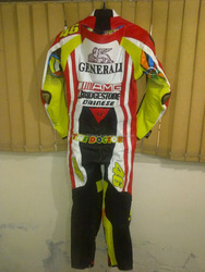 Motorbike Racing Leather Perforated Suit in Cow Hide Alpinestars