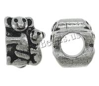 8x11x10mm Koala Zinc Alloy Beads