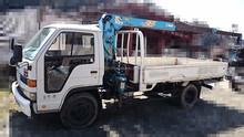 Used mini truck with crane for sale available from Japanese port