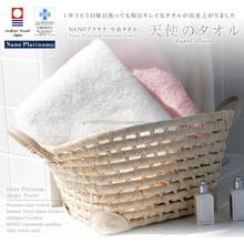 Platinum treatment Imabari brand name towel with nano-platinum mark