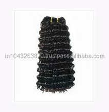 HSE Natural Wave Special Virgin Indian Super Soft No Chemical No steam Process Tangle Free Human hair Extension