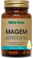 MAGEM Capsule 670 mg x 60 for Migraine power plus capsule GMP Feverfew Extract, Valerian root, willow bark extract Supplement