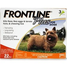fronlin plus for dog 22lbs