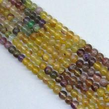 Fine Natural Multi Fluorite A Grade Beads Strands